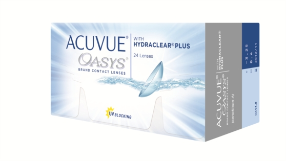 Acuvue Oasys with hydraclear plus 24 линзы