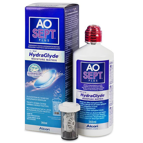 AOSEPT Plus Hydraglyde, 360 мл
