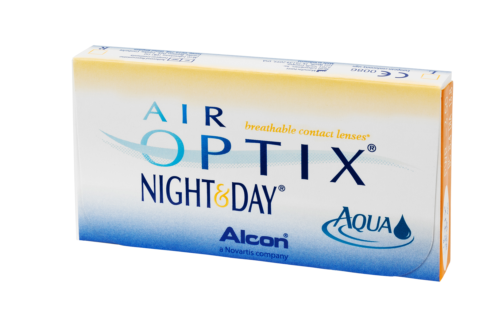 AIR Optix Aqua Night&Day </br>(3 линзы)